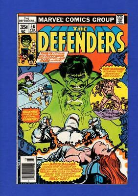 Defenders #56 Nm 9.4 High Grade Bronze Age Marvel