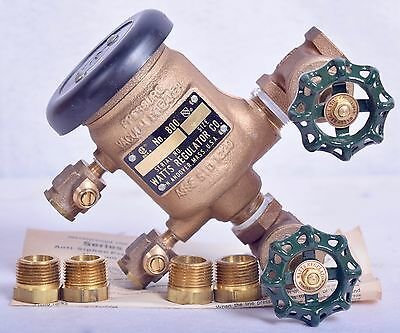 "Watts Pressure Vacuum Breaker 1/2"" No. 800"