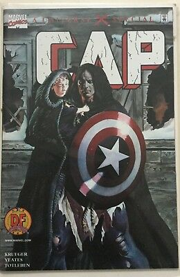 RARE Universe X Special Cap America Alex Ross Variant Cover Dynamic Forces 2000