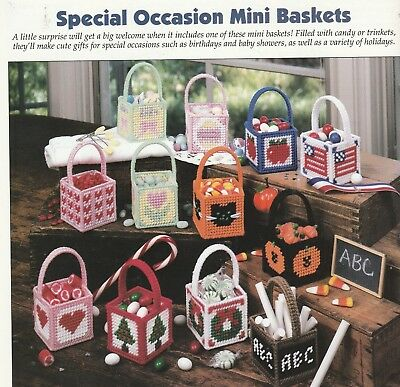 Plastic Canvas Pattern Only Holiday Special Occasion Mini