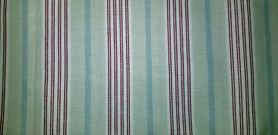 Longaberger brand Awning Stripe fabric.  Big 56 inches wide. Sold by the yard