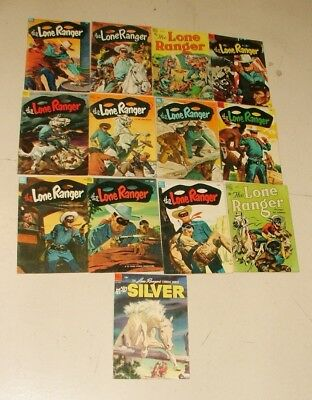 % 1950's Lone Ranger Cowboy  Comic Book Collection Lot 1-I