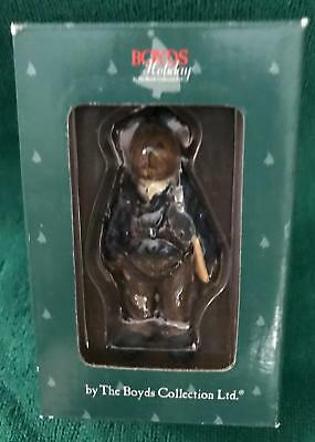 BOYD'S BEARS - Air Force Christmas Ornament Pre-Owned LN Free Shipping