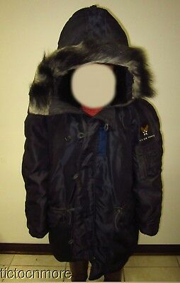 Us Post Wwii Type N3-A Survival Flight Jacket Air Force Xl Artic Winter Parka