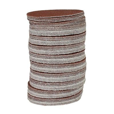 2X(100x Hook And Loop DA Sanding Grinding Abrasive Pad Mixed Grit 3inch 75mm GP