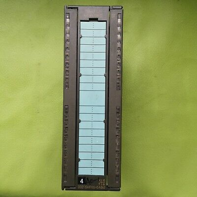 Siemens 6ES7 332-5HF00-0AB0 6ES7332-5HF00-0AB0 SM332 Used Normal work