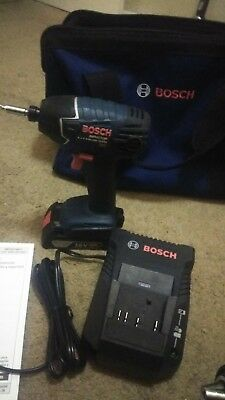 Bosch 18-Volt cordless Drill driver and Impact Driver Combo Kit