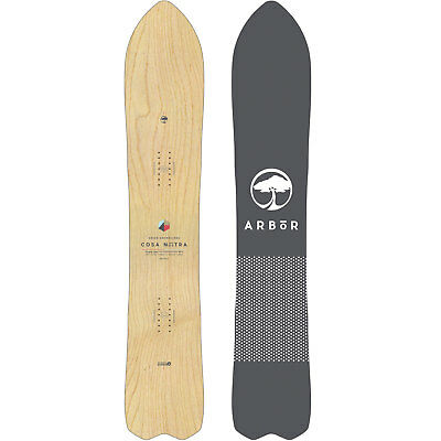 Arbor Cosa Nostra Men's Snowboard all Mountain Freeride Shape Maple 2019 New