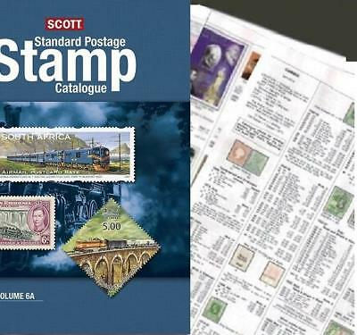 Spanish Morocco 2019 Scott Catalogue Pages 547-554