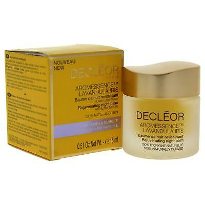 Genuine Decleor Aroma Night Iris Eye Rejuvenating  Night Balm 15ml