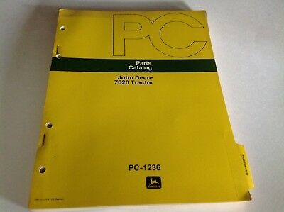 John Deere 7020 Tractor Parts Catalog PC-1236