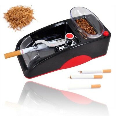 Electric Cigarette Automatic Rolling Machine Tobacco Injector Maker Roller RED