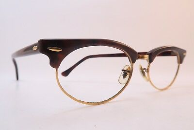 Vintage B&L Ray Ban Clubmaster eyeglasses frames acetate made in the USA