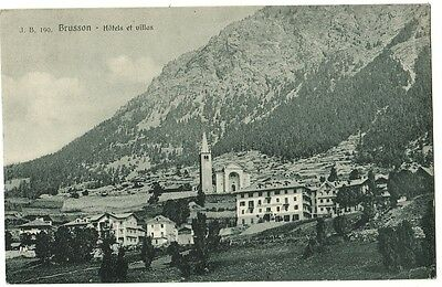 Z18831-Brusson, Hotels Et Villas, Aosta, 1926