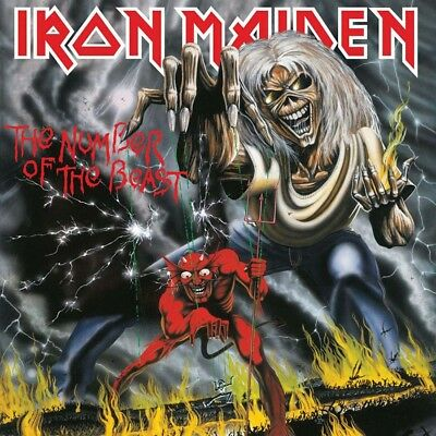 Iron Maiden The Number Of The Beast CD New 2018