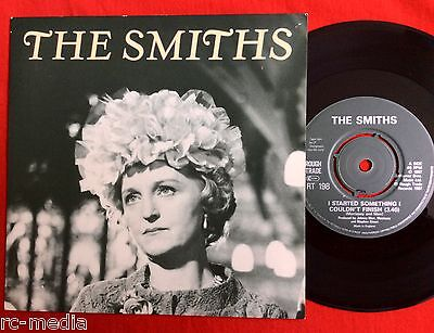 "THE SMITHS -I Started Something- Original UK 7"" with A1/B1 Matrices (EMI PRESS)"