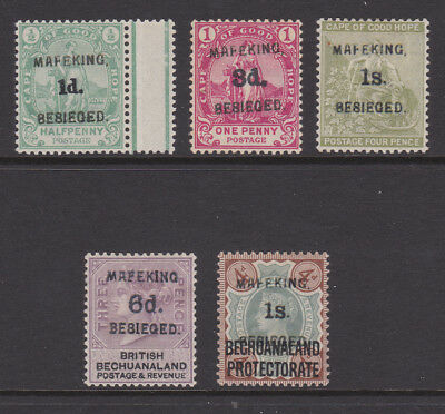 QV South Africa/Mafeking overprints, see description, spacefillers