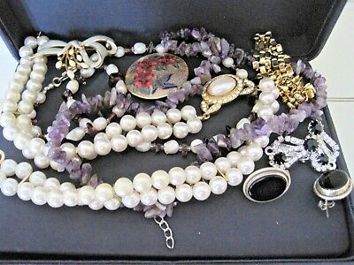Mixed Lot Of Good Quality 1980's Jewellery In Excellent Condition