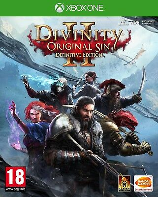 Divinity Original Sin 2 - Definitive Edition (Xbox One)  BRAND NEW AND SEALED