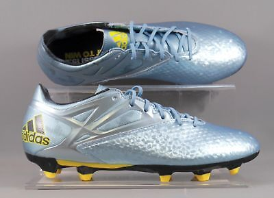 Adidas B23775 Messi 15.2 FG/AG adults football boots – Blue/Silver (new boxed)