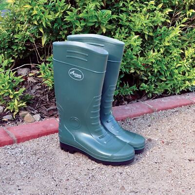 Green Wellington Boots Wellies Muck PVC Waterproof Unisex Mens Womans Ladies