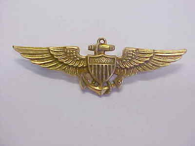 "Vintage "" Navy - Usmc "" Pilots Wings By "" Imperial """