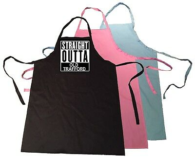 Straight Outta Old Trafford / Compton Manchester Man United Pocket full Apron