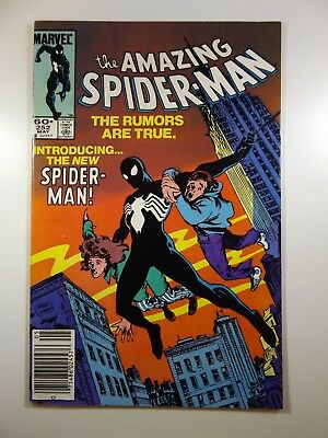 "The Amazing Spiderman #252 ""Behold the Black Suit in Continuity!""  VF+ Condition"
