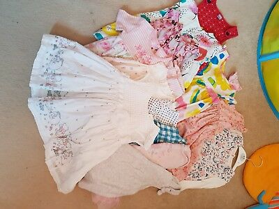 Baby girl clothes bundle 9-12 months