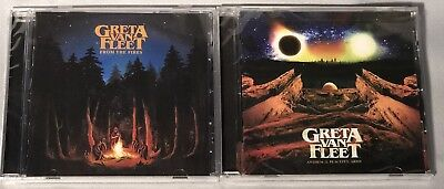 CD GRETA VAN FLEET From The Fires/Anthem of Peaceful Army (2 CD LOT) BRAND NEW!