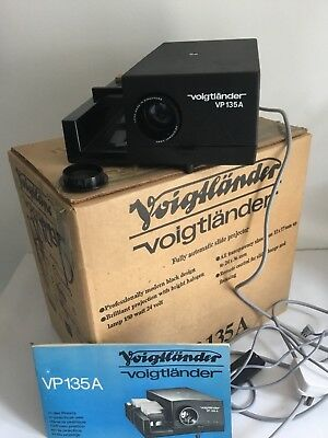 Boxed Tested Voigtlander VP 135 A slide projector With Remote Control , Rollei