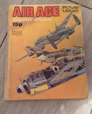 1972 - AIR ACE Picture Library HOLIDAY SPECIAL 224 pages.