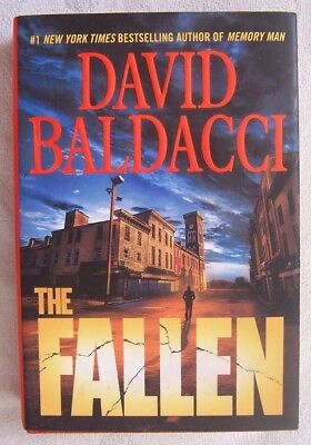 The Fallen by David Baldacci (2018) Hardcover First Edition, First Printing