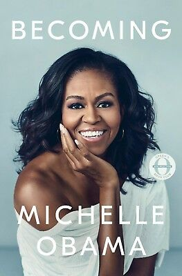 Becoming by Michelle Obama Hardcover 2018 New
