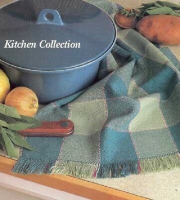 Handwoven's Design Collection 16: weaving a Kitchen Collection towels curtains B