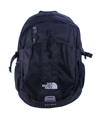 The North Face Womens TNF Black Rainer Carry All Media Backpack New