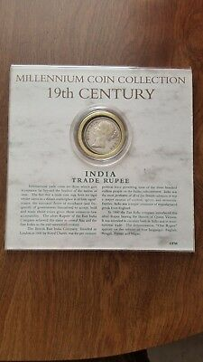 19th Century India Trade Rupee - Millennium Coin Collection - 1840
