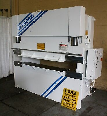 60 Ton X 8' Wysong Hydraulic Press Brake: Stock #64992