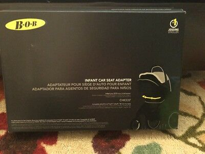 BOB Strollers Single Infant Car Seat Adapter for CHICCO S07416200 KeyFit New!