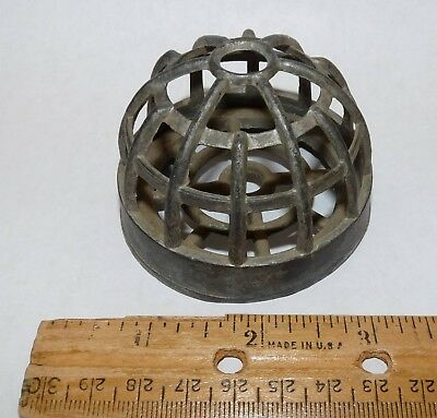 Vintage Antique Cast Iron Old Country Store String Holder Dispenser
