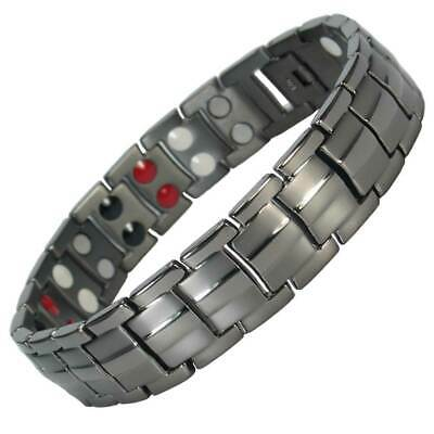 MPS® EUROPE 4 in 1 GM Titanium Magnetic Bracelet + Free Links Removal Tool