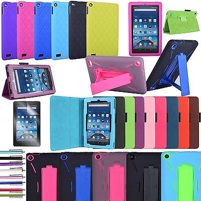 """Fire HD 8 case, Full body Cover Case For Amazon Fire HD 8.0"""" 8th Generation 2018"""