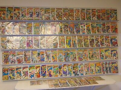 Huge Lot 110+ Bronze comics Avengers, Superman & more avg VG+ condition