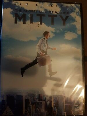 The Secret Life of Walter Mitty [DVD] Brand New Sealed S1