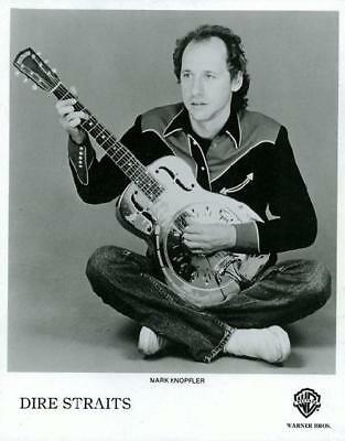 Dire Straits Mark Knopfler Original 8X10 Publicity Photo