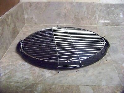 NUWAVE MINI INFRARED OVEN OVAL REPLACEMENT DRIP TRAY and Rack 20101