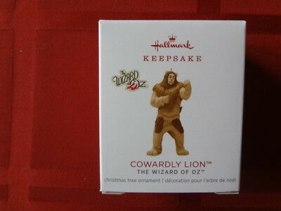 Hallmark Miniature Ornament The Wizard Of Oz Cowardly Lion Limited Edition 2018