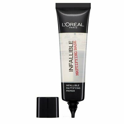 L'OREAL Paris Infallible/Indefectible Mattifying Primer Base 35ml - NEW