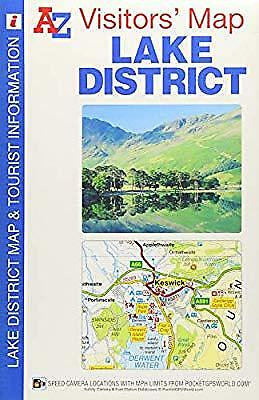 Lake District Visitors Map (A-Z Visitors Map), Geographers A-Z Map Co Ltd, Used;