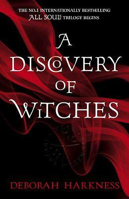 A Discovery of Witches (All Souls Trilogy 1) by Deborah Harkness, NEW Book, (Pap
